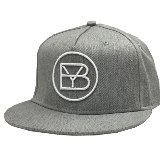 Brett Young Light Grey Flat Bill Cap
