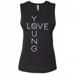 Brett Young Ladies Black Muscle Tank