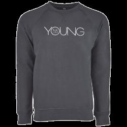 Brett Young Heavy Metal Raglan Lightweight Sweatshirt