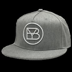 Brett Young Light Grey Flat Bill Cap