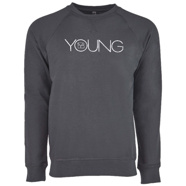 Brett Young Heavy Metal Raglan Crew Neck Sweatshirt